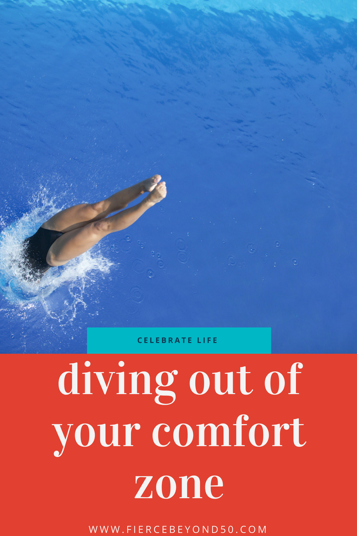 Diving Into the Deep End and Out of Your Comfort Zone