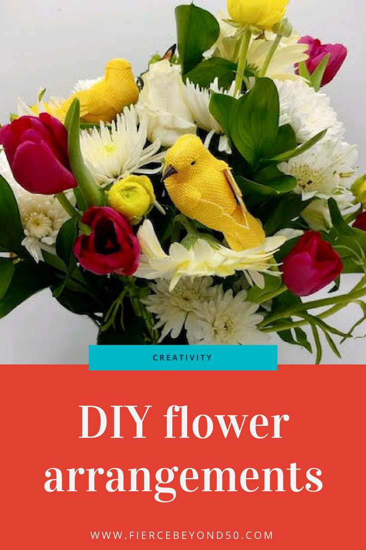 DIY Flower Arrangements for your Easter Table Decorations