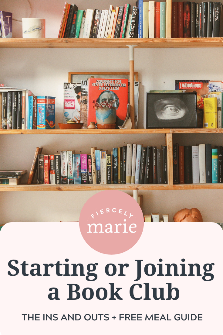 Starting (or Joining) a Bookclub: Friends, Food, and Fellowship