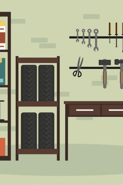 garage makeover, garage organization tips