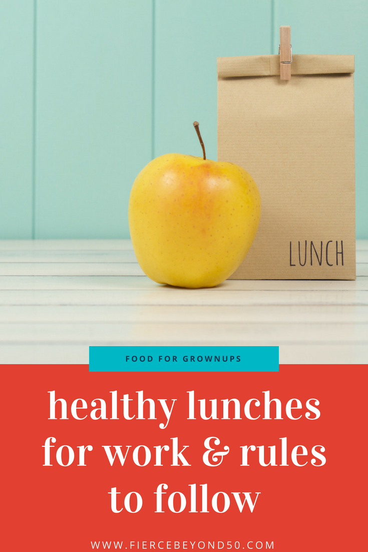 Rethinking the work lunch: Healthy lunches for work and the rules to follow