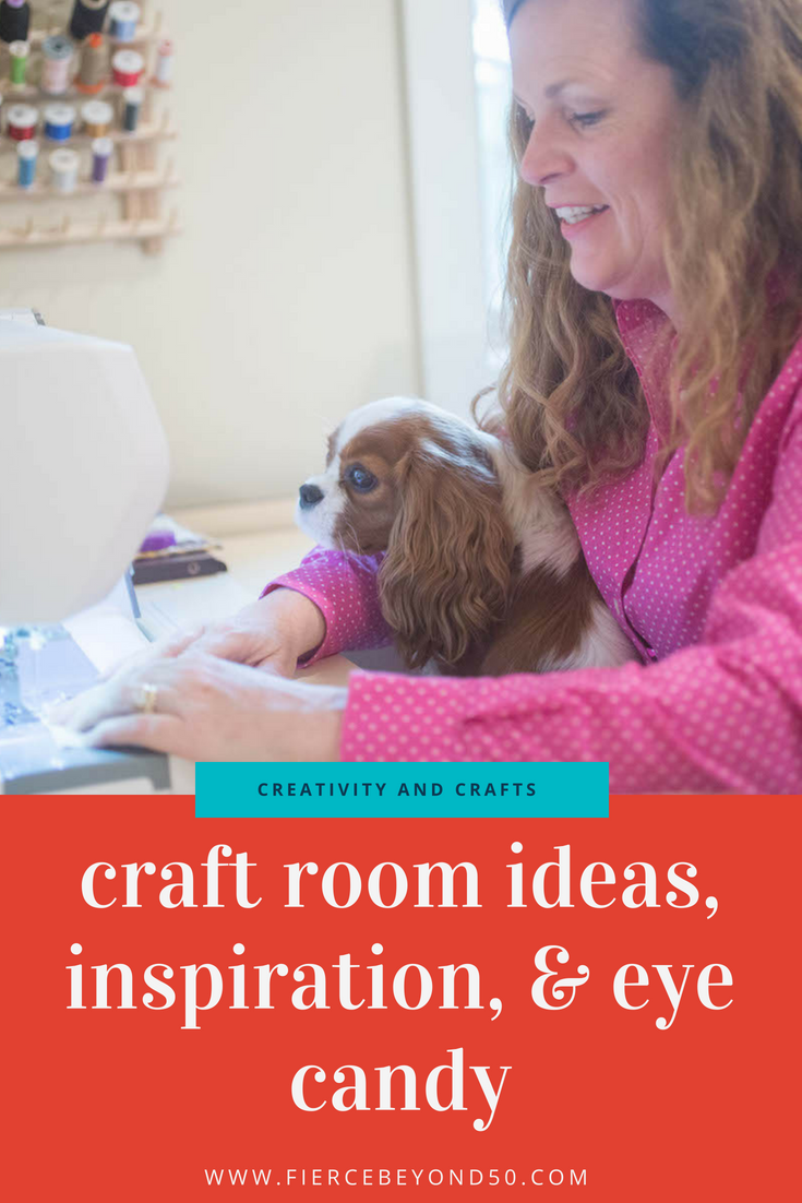 A (Craft) Room of One's Own: Craft Room Ideas, Inspiration, and Eye Candy