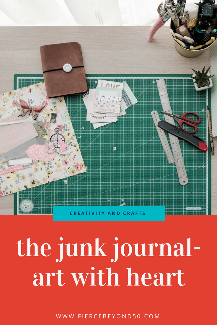 THE JUNK JOURNAL – ART WITH HEART