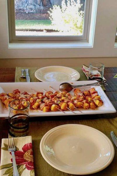summer dinner party menu weight watchers