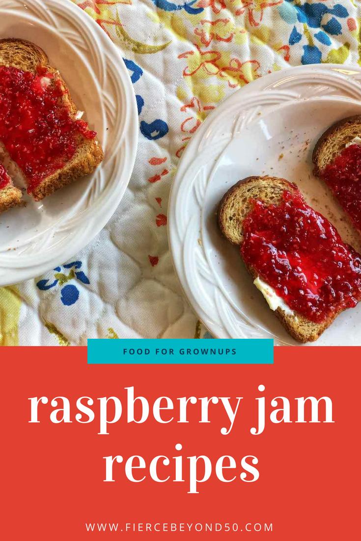 More Simple Joys: a Raspberry Jam Recipe with Pectin and a No-Pectin Recipe with Less than Half the Sugar
