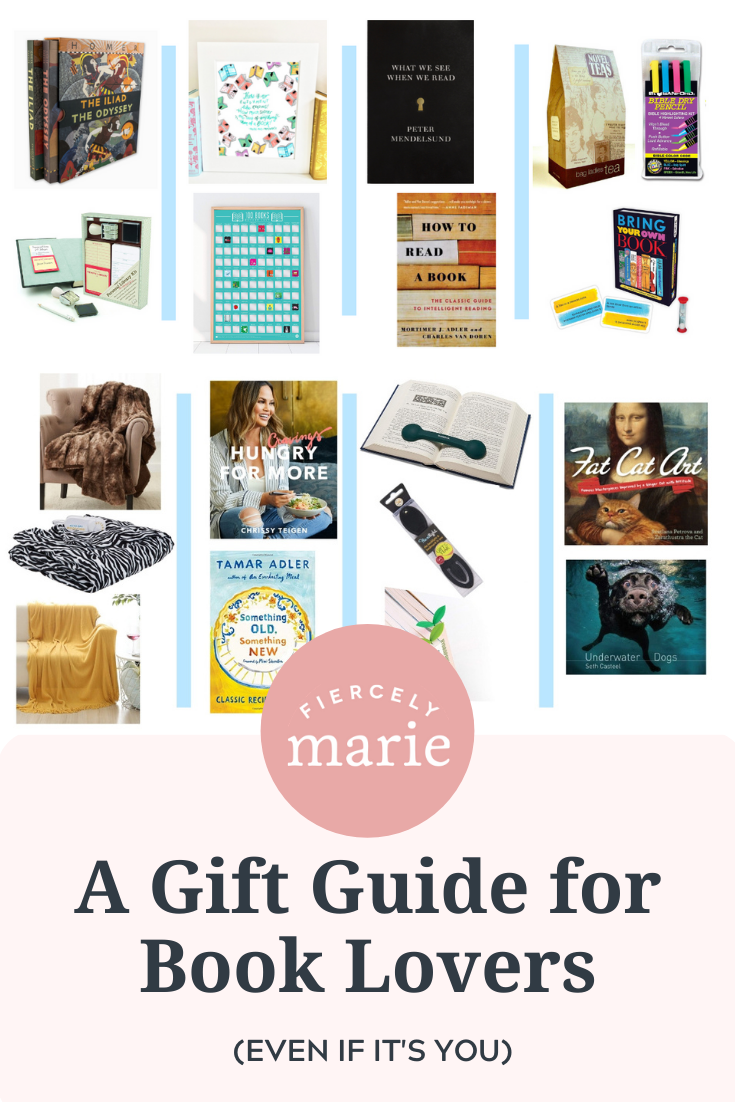 The Fierce Reader\'s Gift Guide: Gift Ideas for the Book Lovers in Your Life (Even If it\'s You)