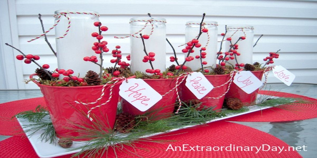 Labelled Advent Wreath