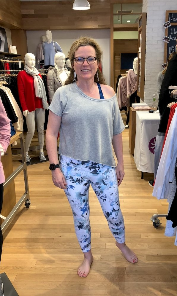 Athletic wear for women over 50