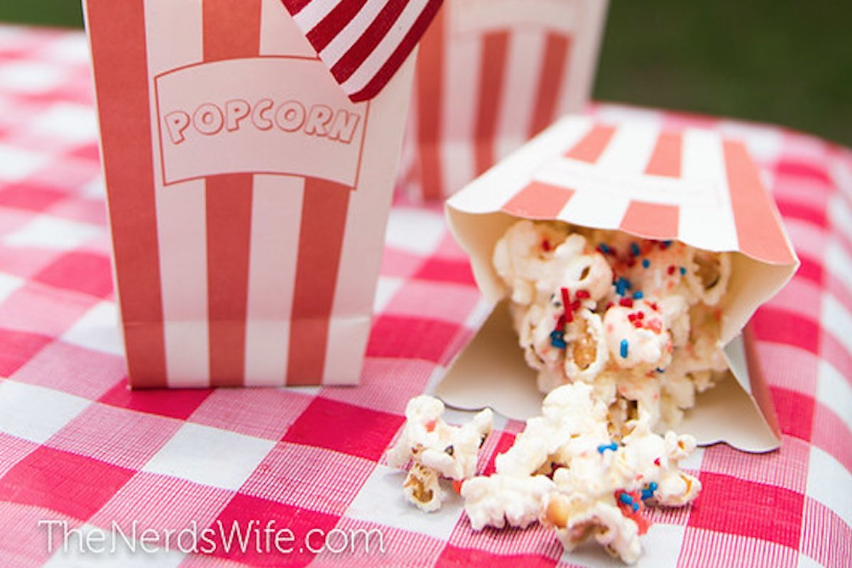 patriotic popcorn red white blue memorial day
