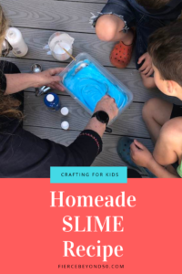 homeade slime for kids crafts