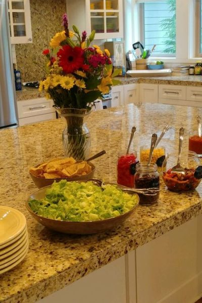 taco tuesday salad bar