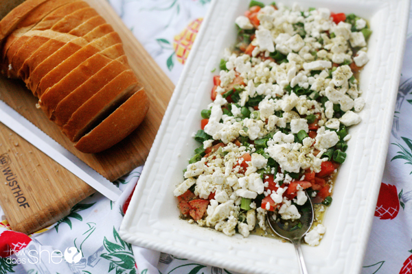 greek dip feta book club