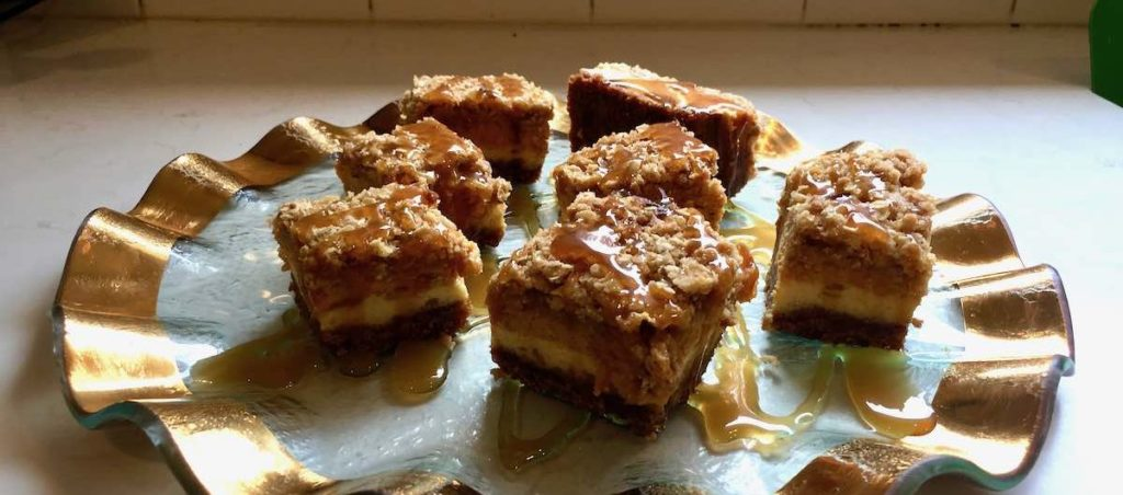 pumpkin spice recipe, pumpkin cheesecake bar
