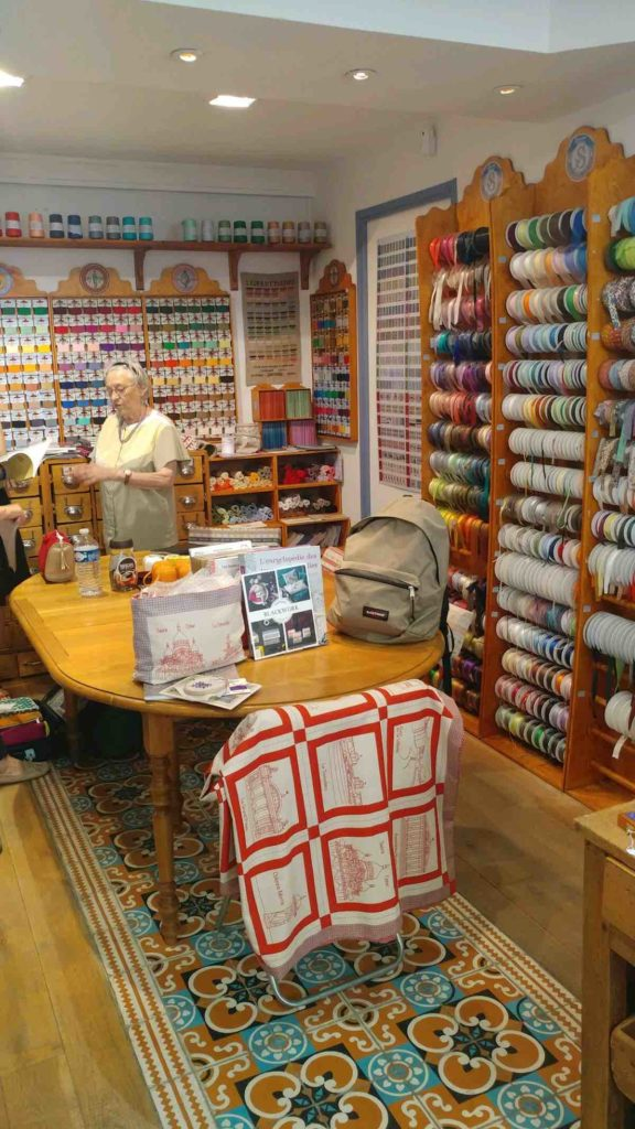 Paris fabric shopping