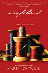 A Single Thread by Marie Bostwick - Book Cover