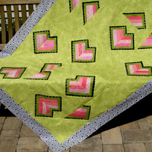 Broken Hearts Mending Quilt Pattern