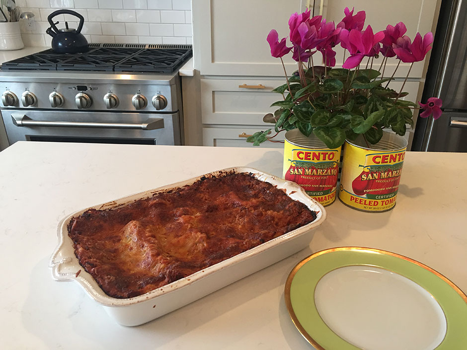 Marie Bostwick's Joanie's Famous Lasagna Recipe