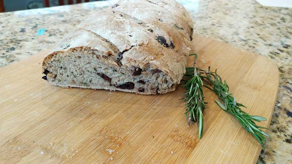 Marie Bostwick's Olive Bread Recipe