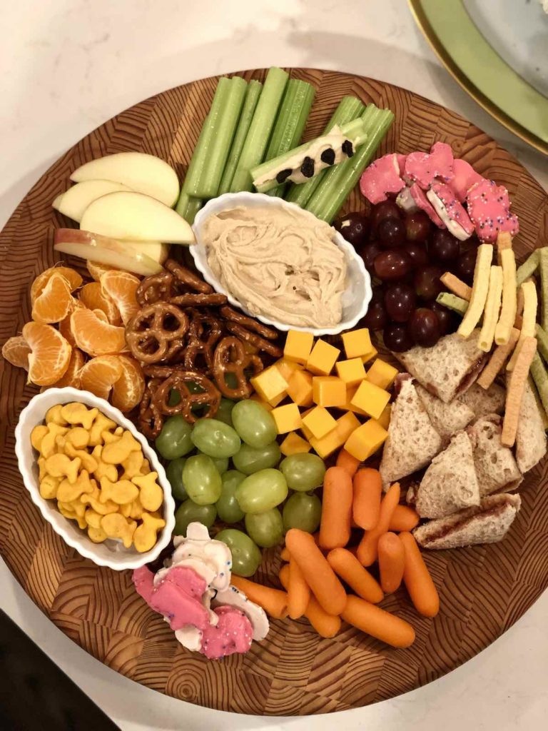 kid-friendly charcuterie board
