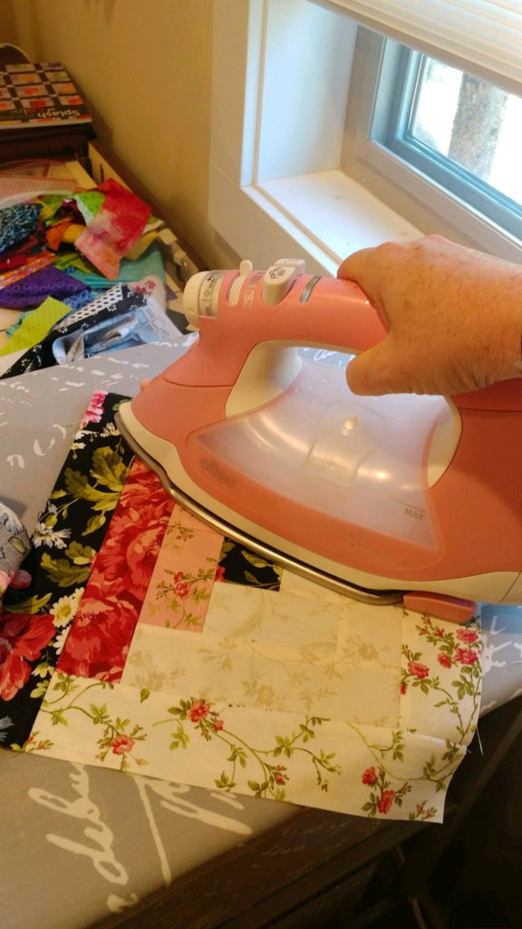 oslio smart iron pink quilting