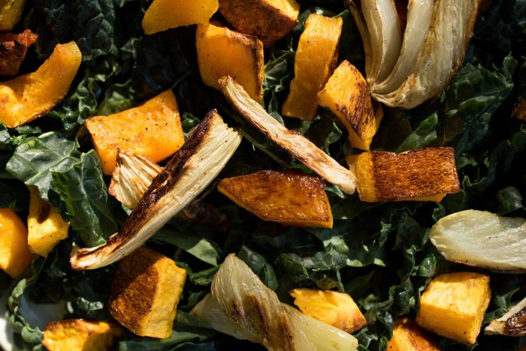kale salad, holiday sides