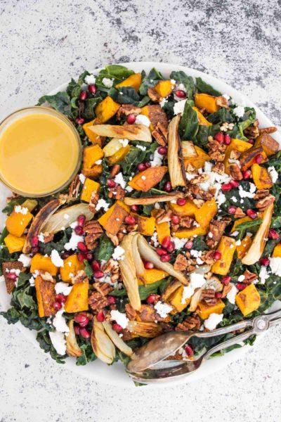 fall salad, thanksgiving salad, salad salad recipe, winter salad ideas