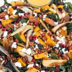 kale salad recipe, thanksgiving sides
