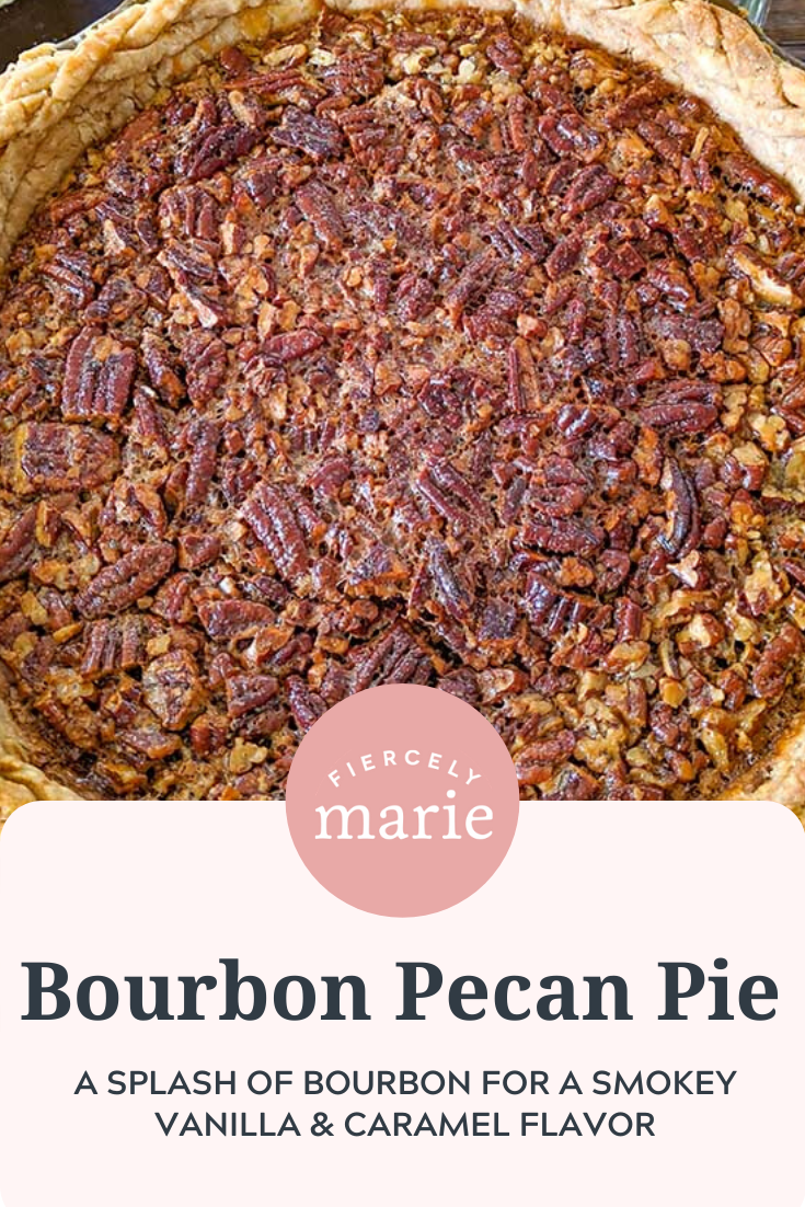 A Pecan Pie with Bourbon