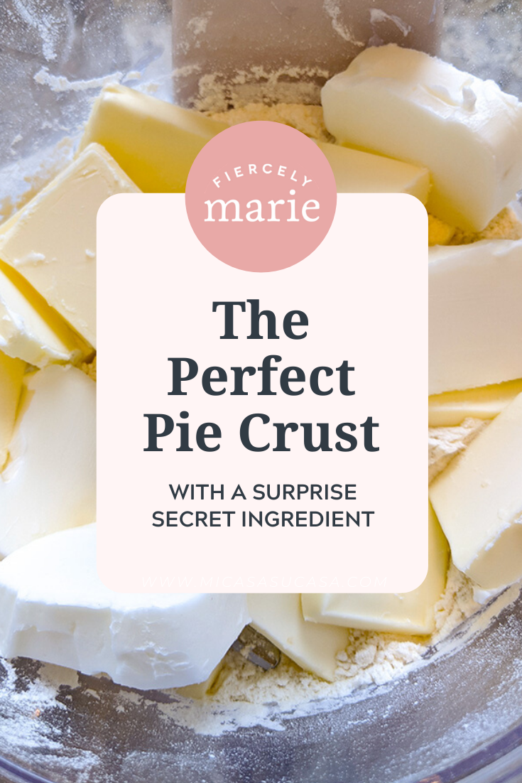 There\'s one ingredient key to getting a flaky, tender pie crust from scratch each and every time. What is it? Read on to find out!