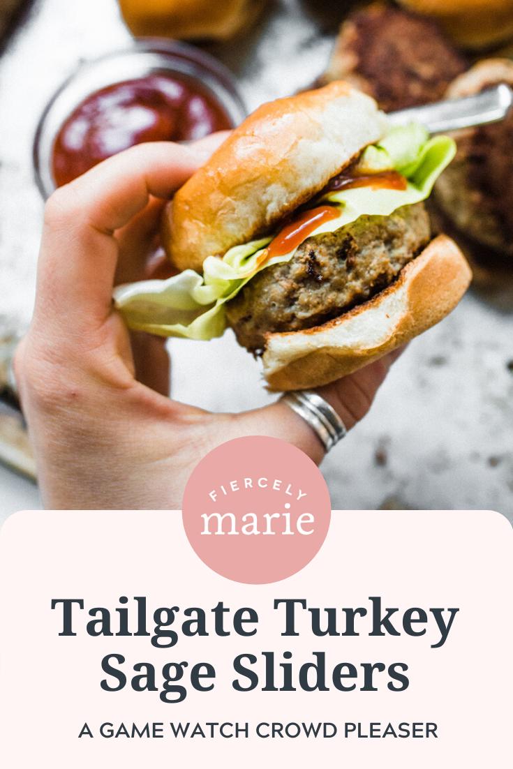Tailgate Turkey Sage Sliders Recipe