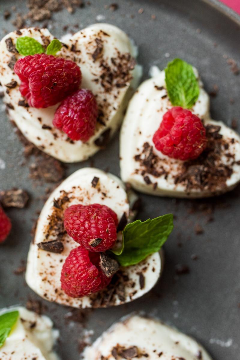 Healthy Valentine's Dessert