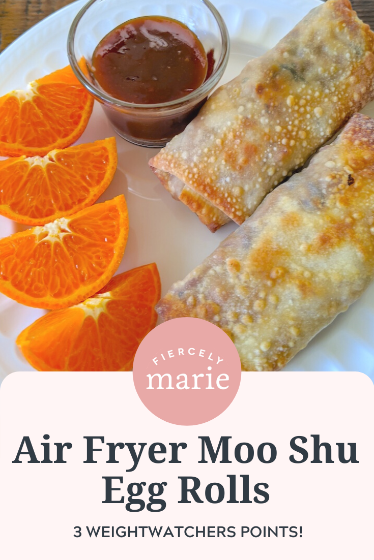 Moo Shu Inspired Air Fryer Egg Rolls