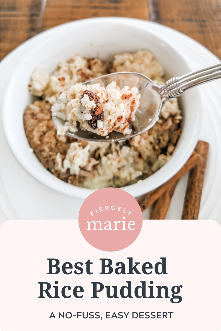Best Baked Rice Pudding