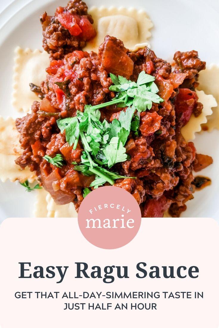 My Easy Ragu Sauce