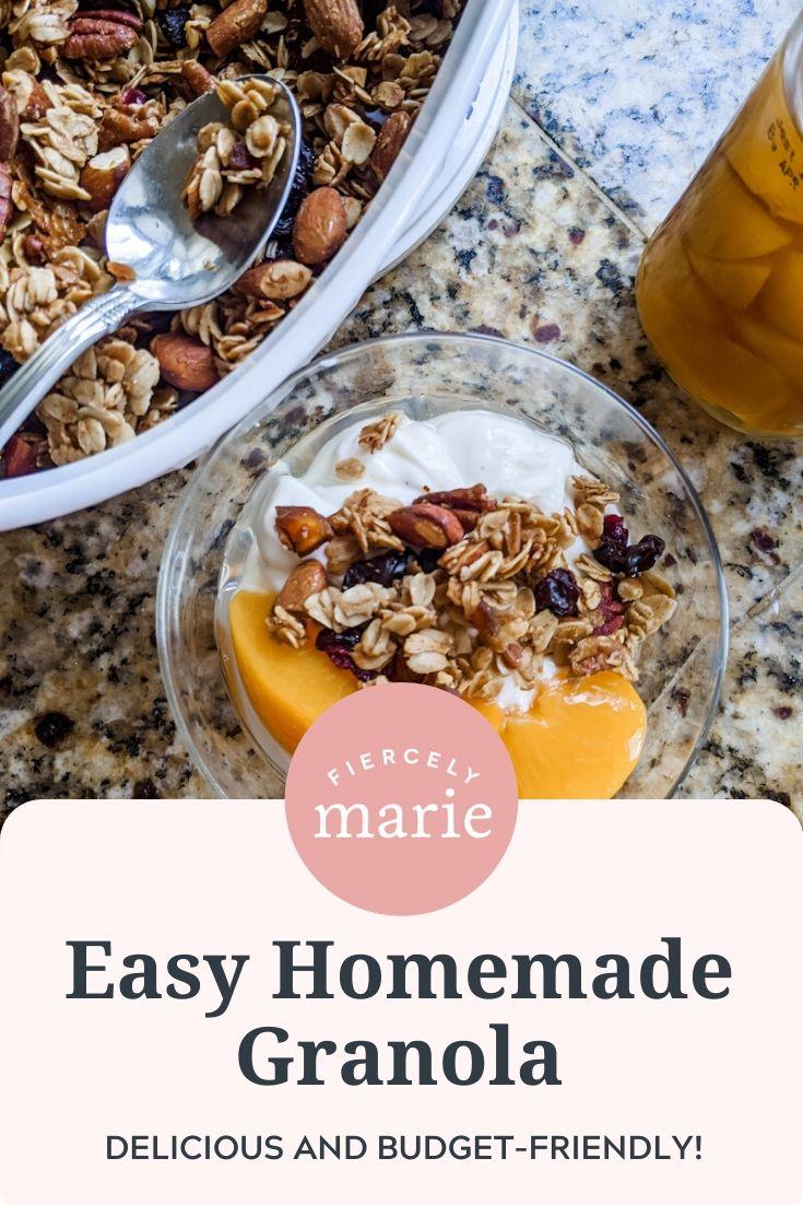 My Easy Homemade Granola