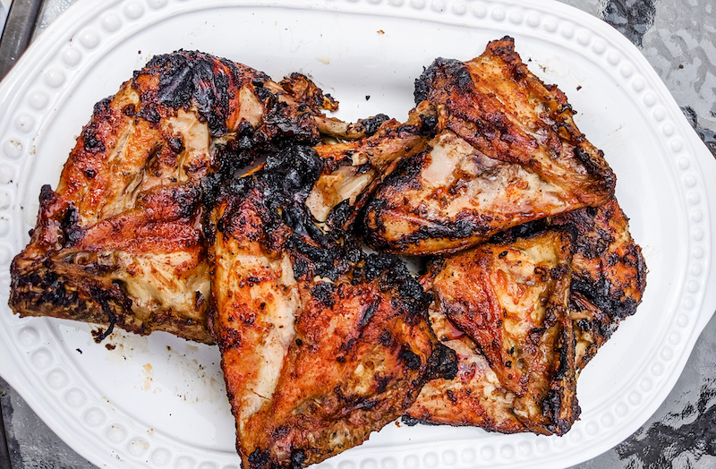 Chicken with BBQ Dry Rub