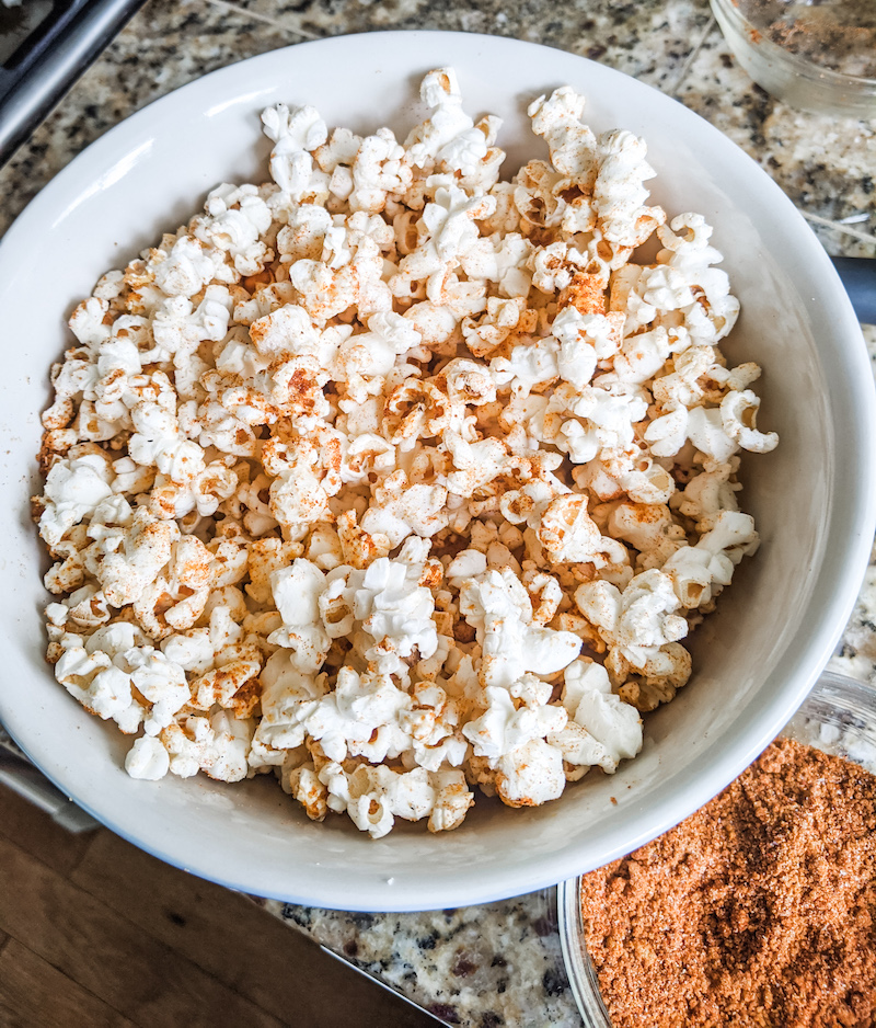 DIY Popcorn Seasoning