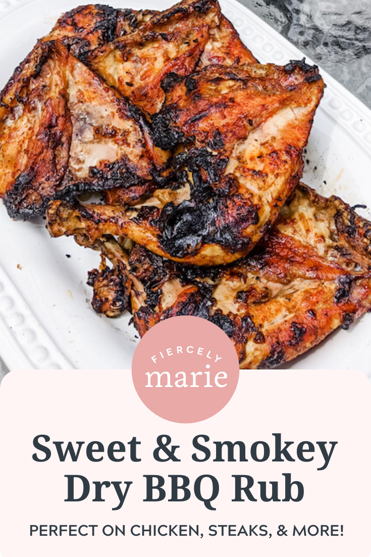 Sweet and Smokey BBQ Dry Rub