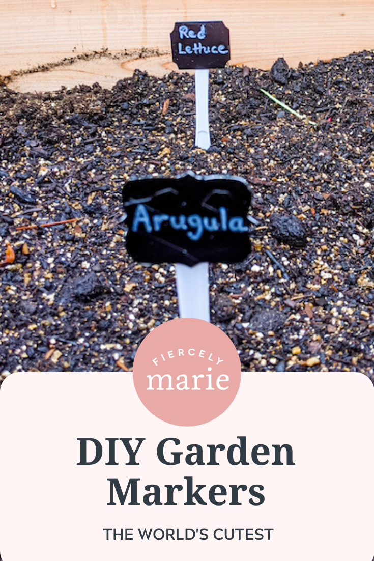 DIY Garden Markers – Craft of the Month