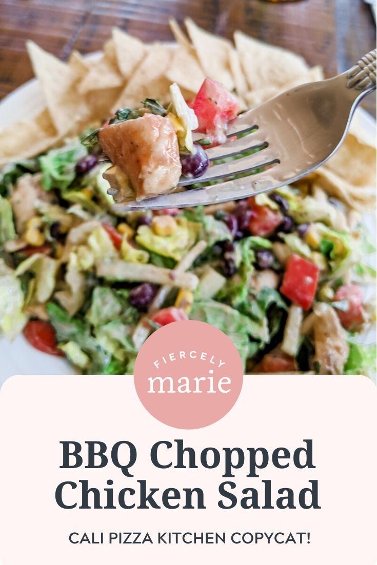 California Pizza Kitchen Copycat BBQ Chopped Chicken Salad