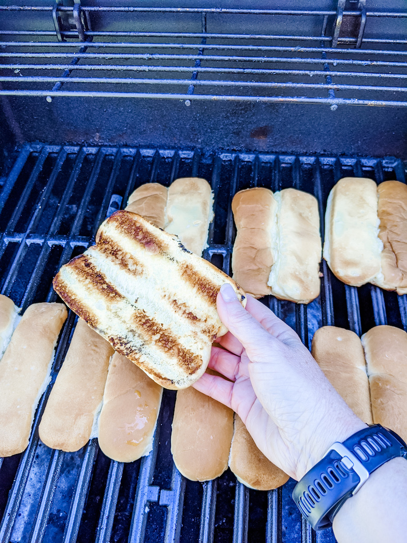 Toasted Hot Dog Buns