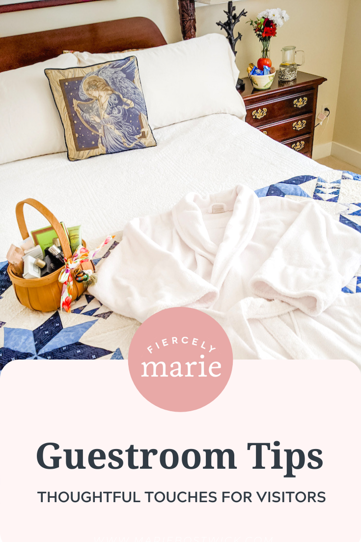 Guestroom Tips & Thoughtful Touches