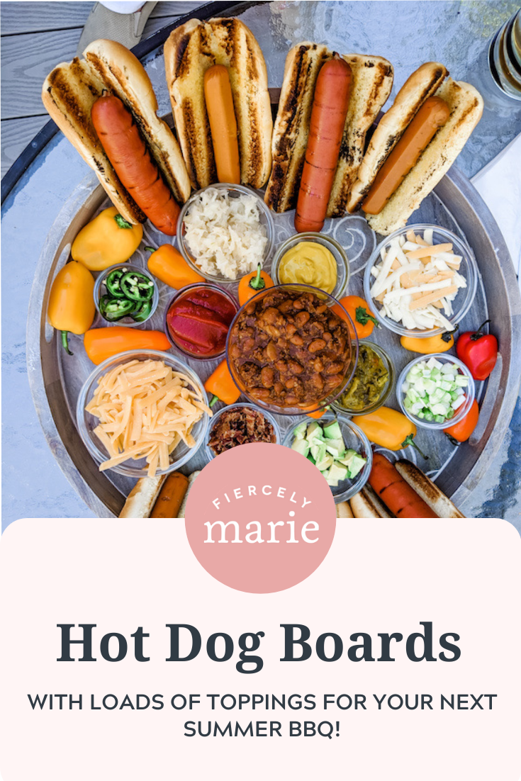 Hot Dog Board: Creative BBQ Ideas