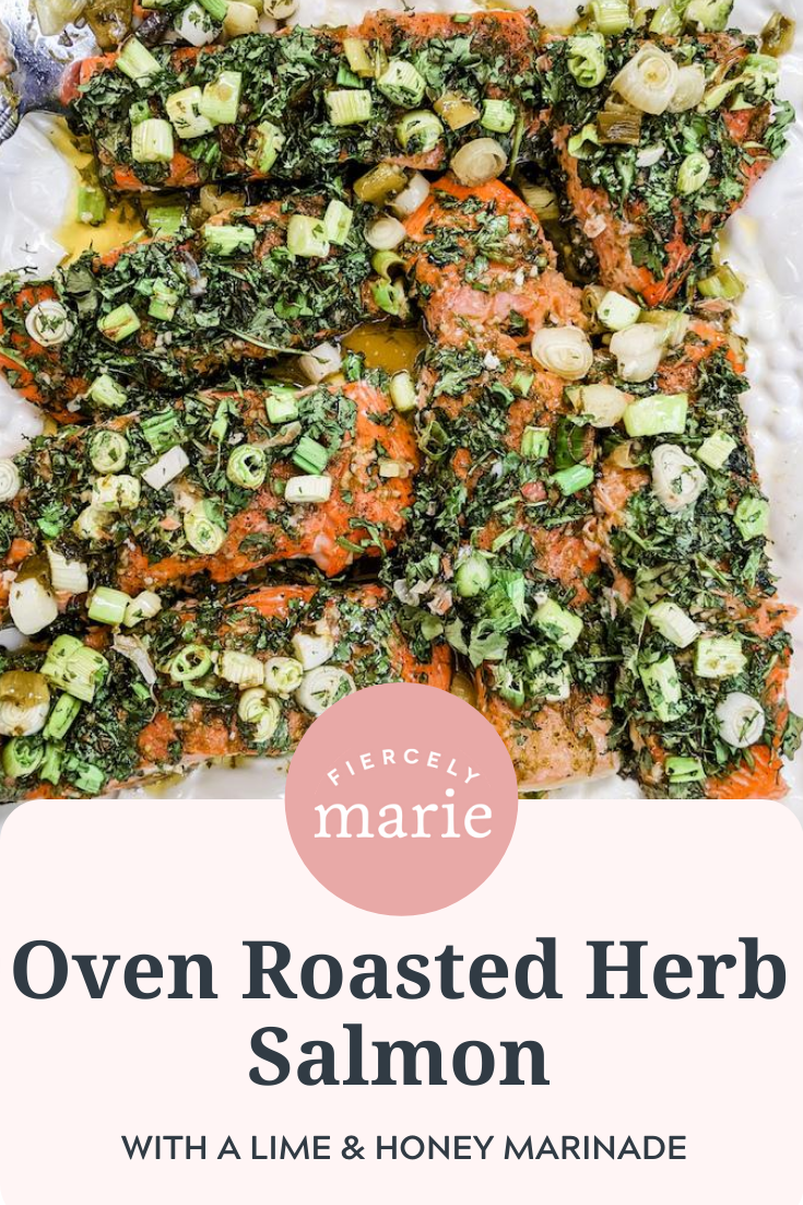 Family Recipes: Oven Roasted Herb Salmon