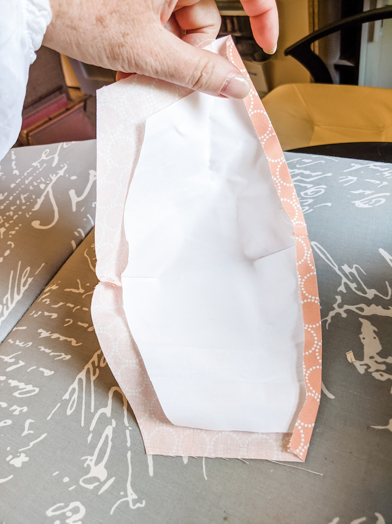 Fold and Press the Lining