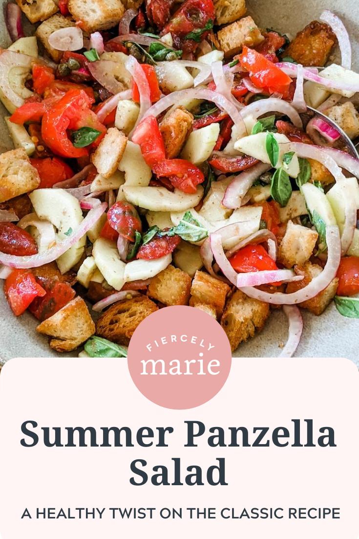 Summer Panzella Salad