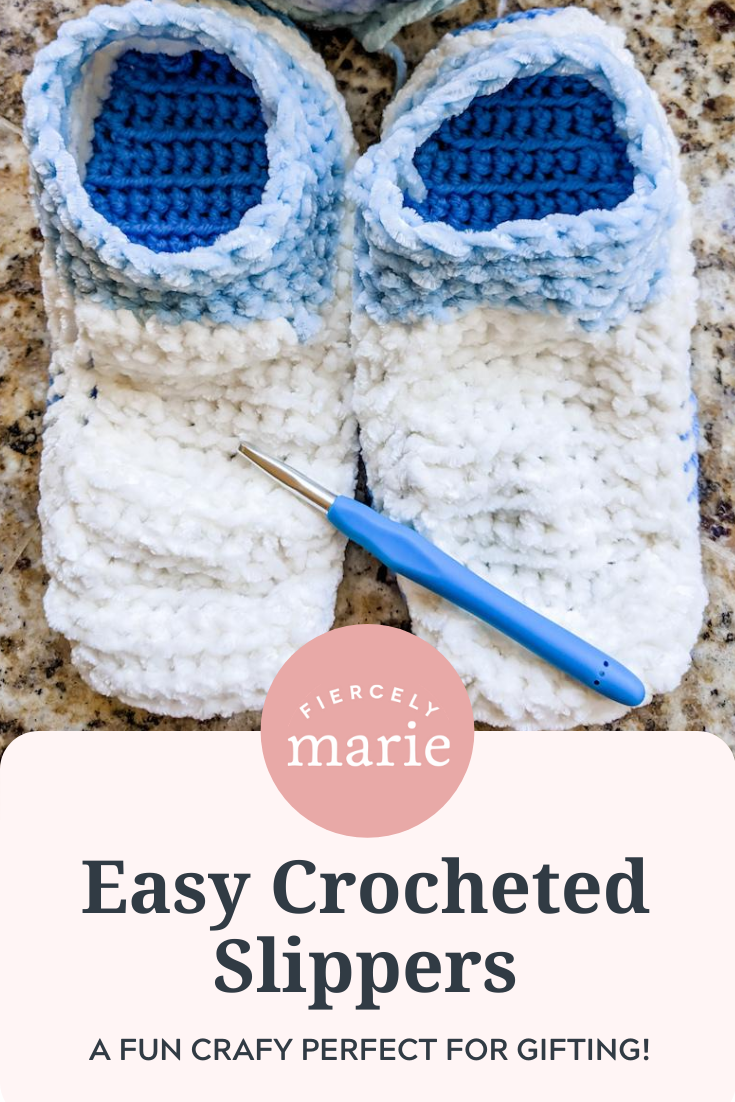 Easy Crocheted Slippers: Craft of the Month