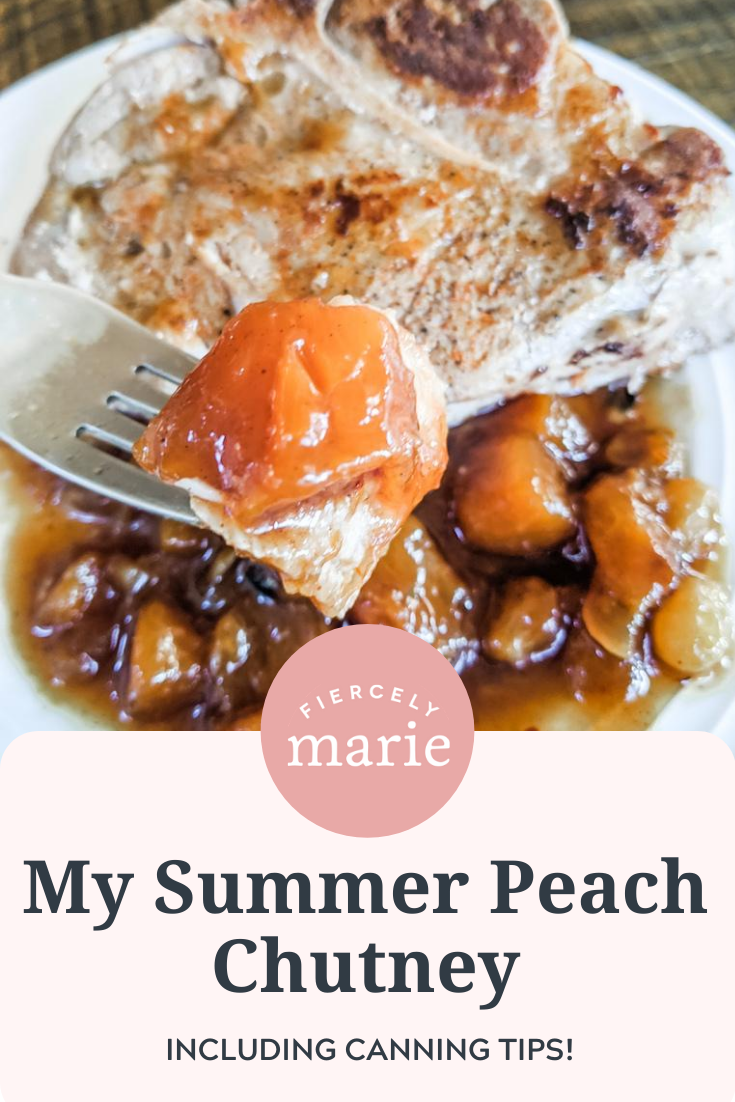 My Peach Chutney