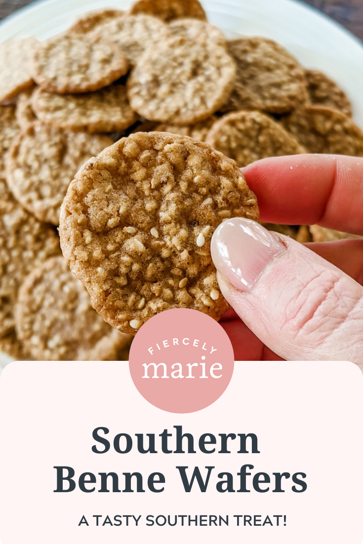Southern Benne Wafers Recipe