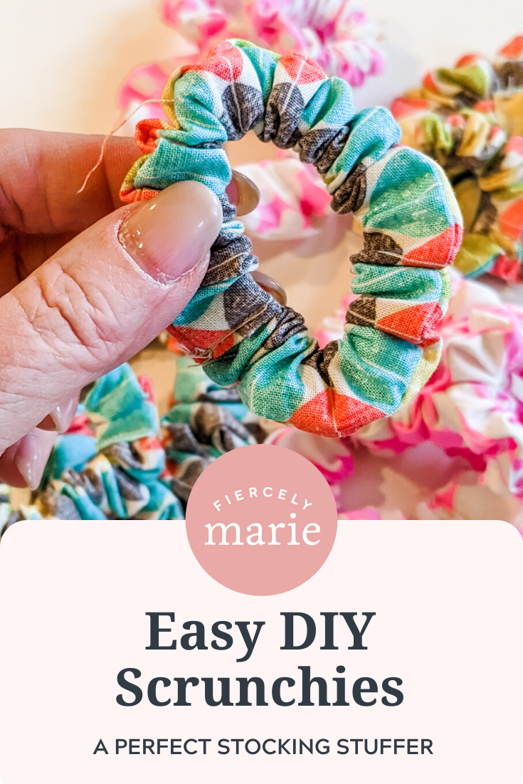 Easy DIY Scrunchies